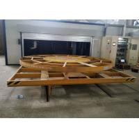 Quality Automated Turnplate Turning Powered Rail Transport Cart for sale