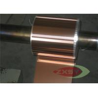 Quality Casting Oxygen Free High Conductivity Copper Foil , Copper Metal Sheets for sale