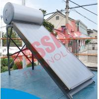 China Compact Pressure Solar Water Heater 200 Liter With Sewage Purification on sale