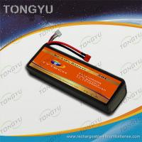 Quality UN38.3 MSDS Approval RC Car Battery Packs 11.1V 10900mAh 50C Rate for sale