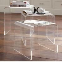 Quality Acrylic Nesting Table for sale