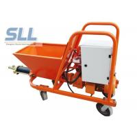 Quality 7.5KW Wet Ready Mixed Wall Cement Mortar Spraying Machine 30L / Min Orange Color for sale