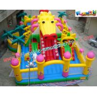 China Custom Design Commercial Inflatable Water Parks For Kids 0.55mm PVC on sale