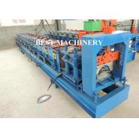 China Metal Roof Ridge Cap Roll Forming Machine / Corrugated Roof Sheet on sale