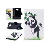 Quality Lovely Panda Smartphone Wallet Case with Card Holder Smooth Or Matting Surface for sale