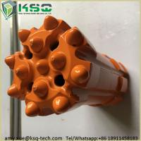 Quality Inserts T45 Thread Top Hammer Retractable Drill Bit Parabolic Or Hemispherical for sale