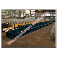 Quality Box Profile Metal Rain Water Gutter Manufacuring Machine with Steel / Aluminium Gutters Rollformer for sale