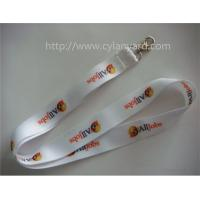 Quality Cheap full color neck strap, brand logo full color print badge neck lanyard, for sale