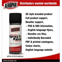 Quality Fast Dry Car Acrylic Spray Paint Cans , Flexible And Strong Adhesive for sale