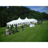 Quality Fireproof European Large Wedding Tents / Outdoor Garden Party Tent for sale