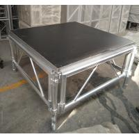 Quality Outdoor Wooden and Aluminum Assembling Portable Stage Platforms for Wedding , Concert for sale