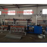 Buy cheap 4m width  Full Automatic double wire feeding Chain Link Fence Machine from wholesalers