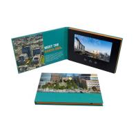 Quality Advertising promotion video brochure card 7 inch 7inch in print lcd screen book digital catalog for sale