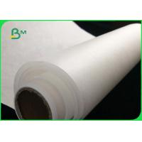 Buy FDA Certified Food Grade White MG Bleached kraft Paper 30gsm To 40gsm In Reel at wholesale prices