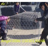 Quality Hexagonal Gabion Box, Hexagonal Gabion Basket Galvanized/ PVC Coated /Gabion Wire Mesh for sale