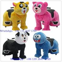 Buy coin operated battery dog animal kids rides for shopping mall at wholesale prices