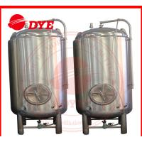 Buy 50 Litre Small Bright Beer Brewery Equipment Inner Surface Mirror Polish at wholesale prices