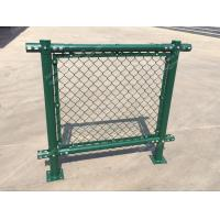 Quality PVC Chain Link Fence for Tennis Soccer Field Court Yard and Garden for sale