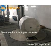 Quality Hennopack Heavy Duty  toilet paper roll rapping Machine for Kraft Brown Paper,artboard paper reel wrapper for sale