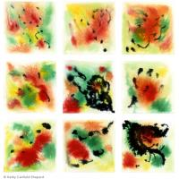 Quality abstract painting concise wall art painting for sale