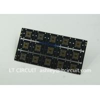 Buy Gold Plating Custom Pcb Manufacturing Black Soldering With IC Lead BGA at wholesale prices