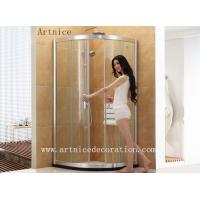 Buy 6mm to 12mm tempered / toughened curved glass door with ISO9001, CE, Australia at wholesale prices