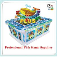 Quality 8P seafood paridise 2 plus suchi fish shooting arcade vending gambling game machine for sale