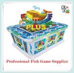 Quality 8P seafood paridise 2 plus suchi fish shooting arcade vending gambling game machine for sale