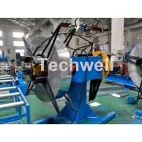 Quality Manual / Hydraulic Double Head Decoiling Machine With 0-15m / Min Uncoiling Speed for sale