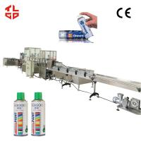 Quality Aerosol Spray Paint Can Filling Machine Filling Lines for sale