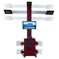Quality Automatic Tracking 3excel Wheel Aligner , 3D Car 4 Wheel Alignment With Global Vehicle Database for sale