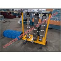 Quality Trapezoid Profiled Roofing Sheet Curving Machine With Simple Manual Controller for sale