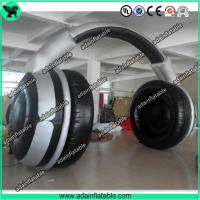 Quality Inflatable Earphone Replica/Advertising Inflatable Headphone Arch Model for sale