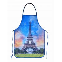 Quality La Tour Eiffel Cotton Kitchen Apron for sale