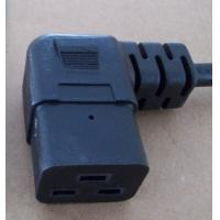 Quality Right angled C19 power cord plug for sale