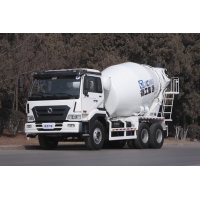 Quality 6m3 Concrete Mixer Transport Truck With 9.726L Displacement Engine for sale