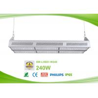 Quality Dimmable 240w exterior linear led fixtures 120lm / w AC90-305V for sale