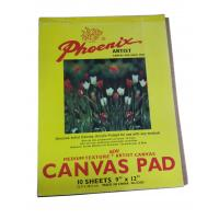 Quality 10 Sheets Drawing Sketch Pad Artist Canvas , Acrylic Primed Any Medium Canvas Pad For Drawing for sale
