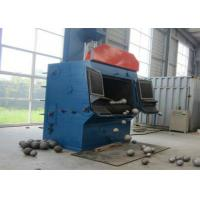 Quality Rubber Tracked Tumble Belt Shot Blasting Machine , Steel Shot Machine Surface Cleaning for sale