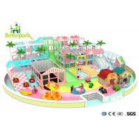 Buy Macaron Theme Kids Plastic Indoor Playground With Slide Multi - Functional at wholesale prices