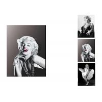 Quality Star Marilyn Monroe 3D Lenticular Flip With 3 Imges Changing Effect / MDF Frame for sale