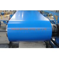 Buy PPGI Color Coated Steel Coil , Hot Dipped Galvanized Steel Coil 0.2-1.2mm at wholesale prices