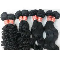 Quality Grade 7A Natural Color 100 Indian Human Hair Weave With Body Wave for sale
