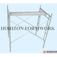 Quality H frame Scaffolding made in China, durable scaffold system for sale