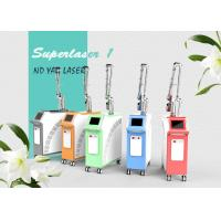 Quality 2000W 1064 nm / 532nm Q Switched Nd Yag Laser Tattoo Removal Machine For Salon for sale