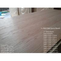 Quality Red Oak Fancy Plywood 1220 x 2440mm for sale