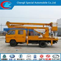 China Jmc Double Row 14 Meters truck mounted lift on sale