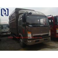 China 2 Ton Light Duty Commercial Trucks Commercial Box Truck 1200-2200RPM on sale
