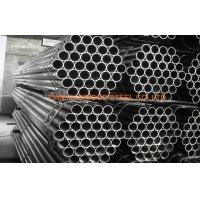 Quality 0.5mm - 20mm Thin Wall ERW Steel Pipe Welded Fluid / Oil / Gas Pipe , JIS G 3466 for sale