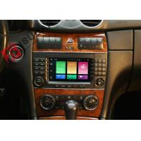 Quality Multi Touch Screen Mercedes C Class Dvd Player , Mercedes Benz Head Unit 4G Function for sale